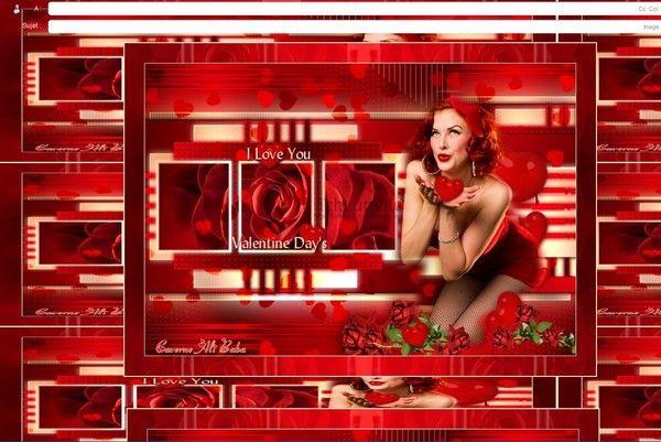 Saint Valentin I LOVE YOU