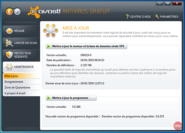Free Antivirus. Boasting. to install. out! many. 6.0. Avast.